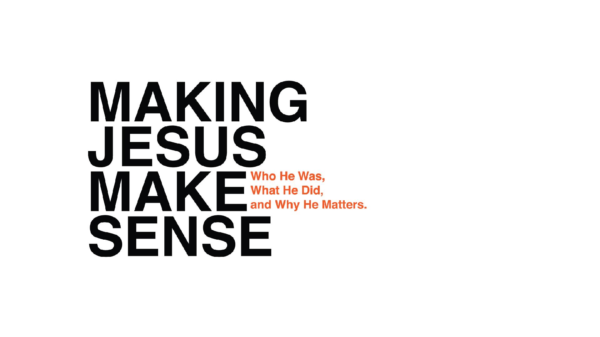 Making Jesus Make Sense Image