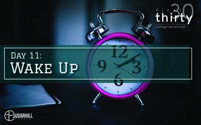 Day 11 – Wake Up