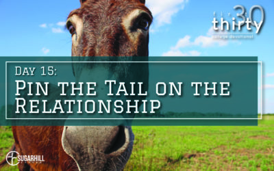 Day 15 – Pin the Tail on the Relationship