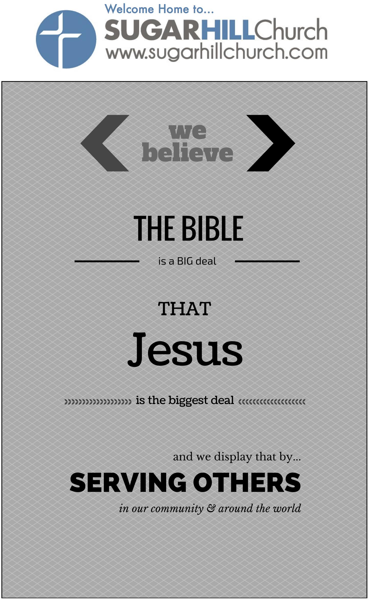 Sermon Notes 02.08.15