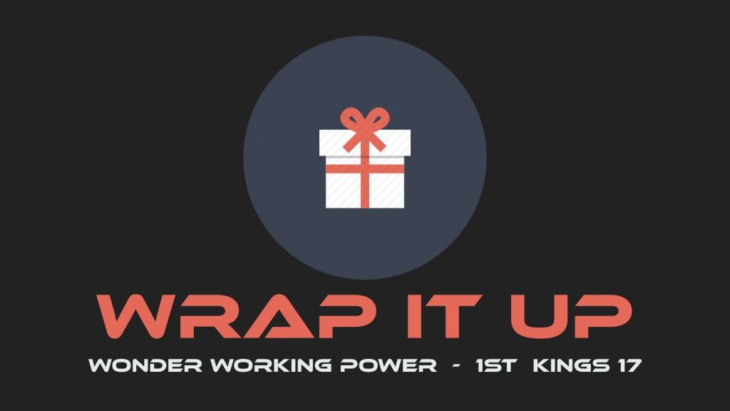 Wrap it Up Week 2.001