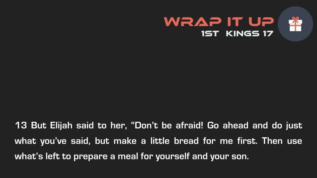 Wrap it Up Week 2.003
