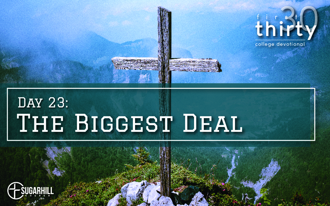 Day 23 – The BIGGEST Deal