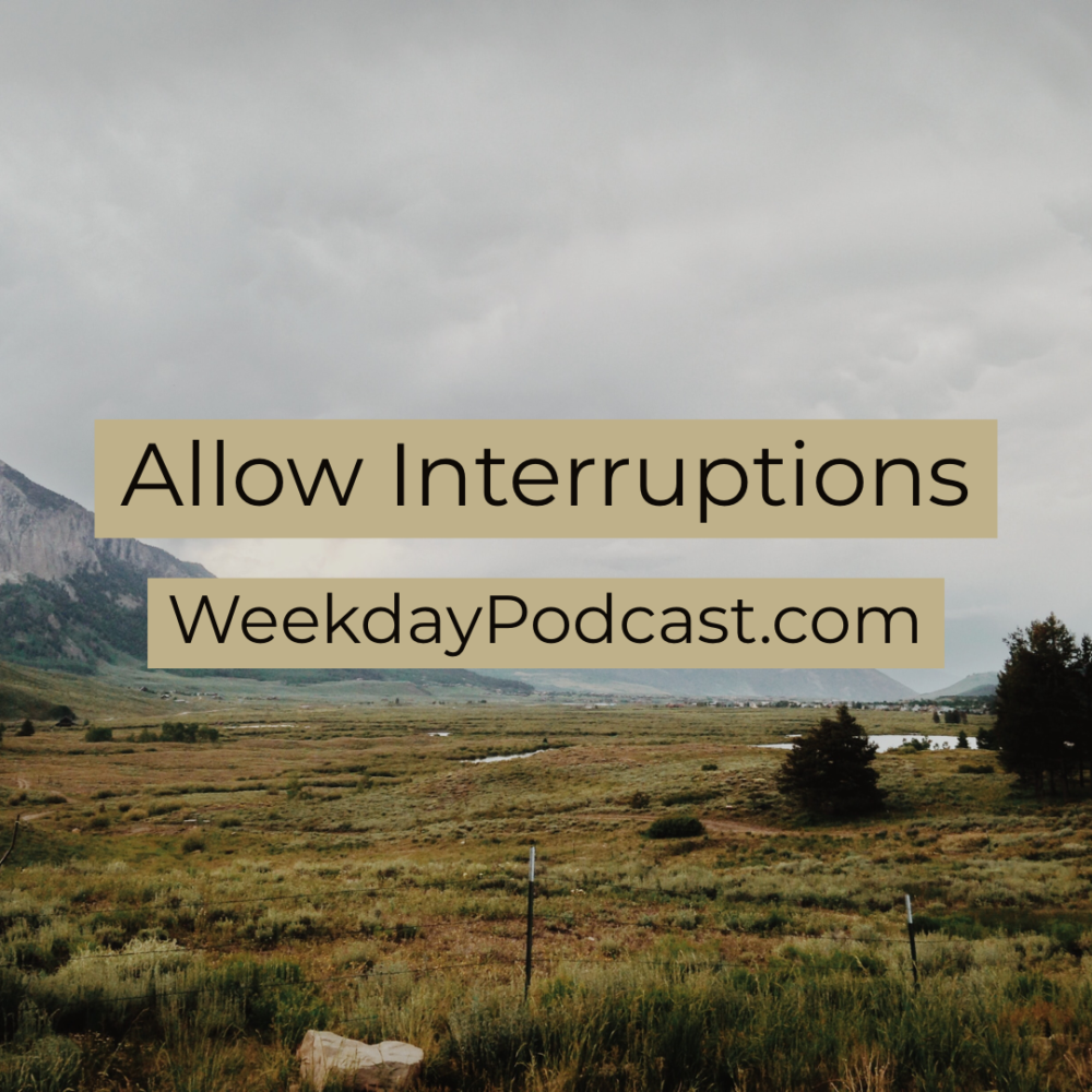 Allow Interruptions