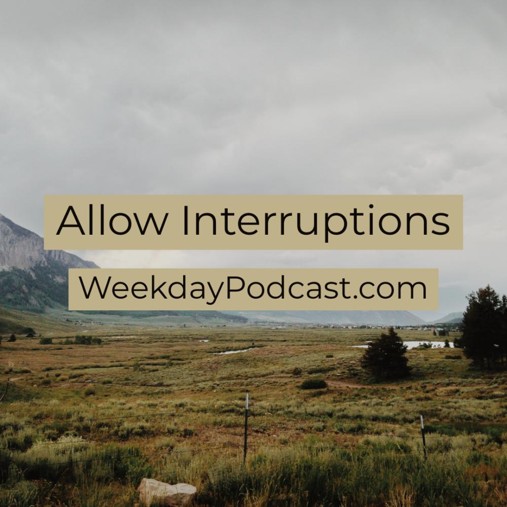 Allow Interruptions Image