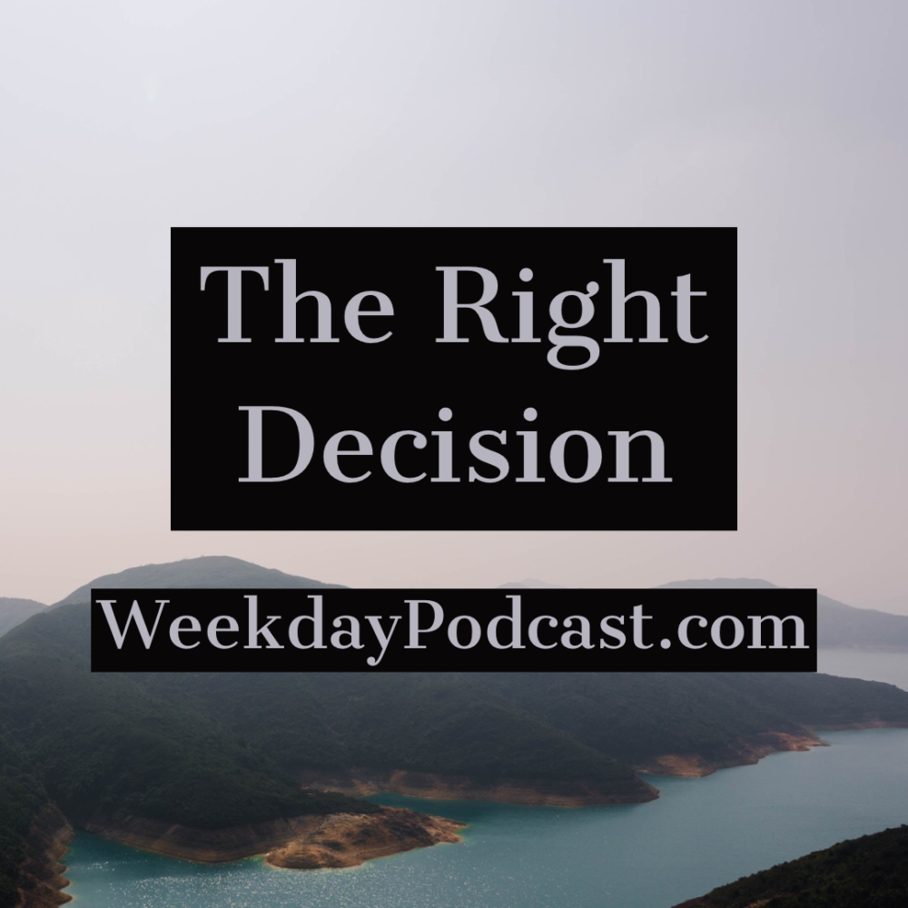 The Right Decision Image