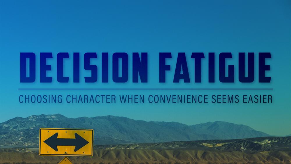 Decision Fatigue Image