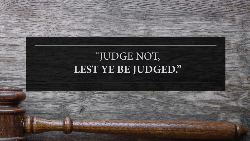 Here Comes the Judge Image