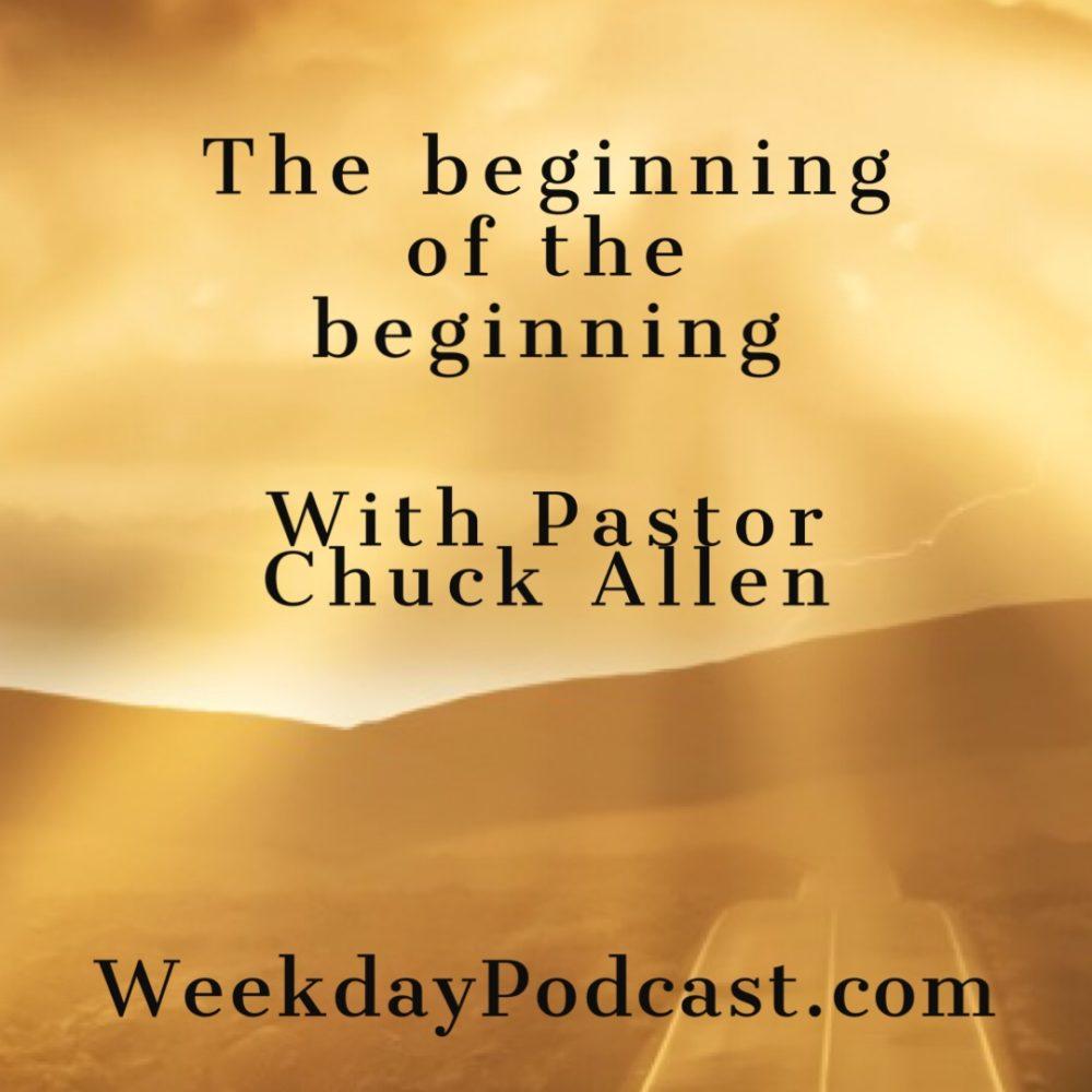 The Beginning Of The Beginning