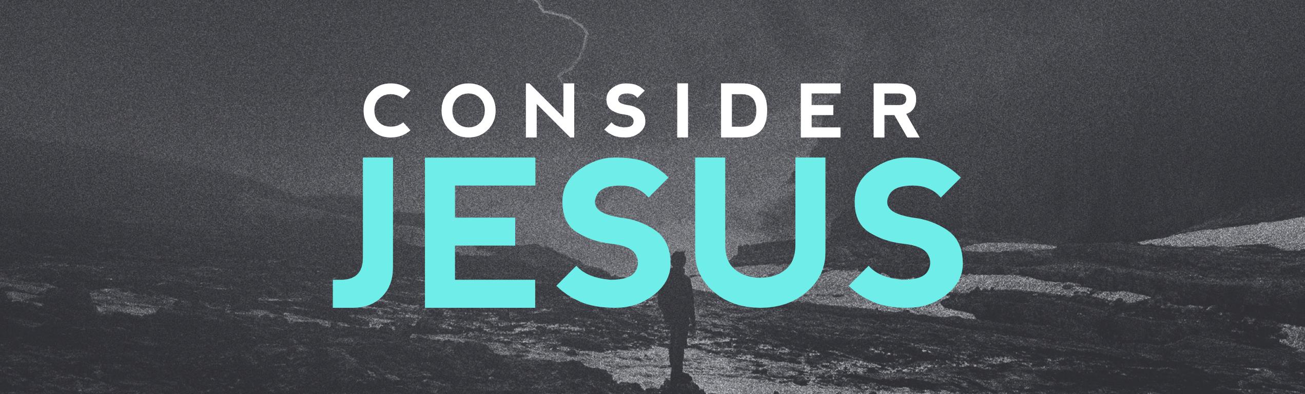 Consider Jesus Image