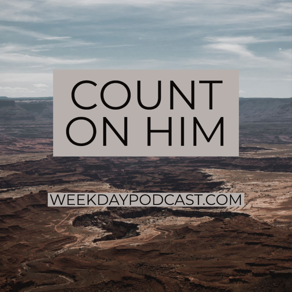 Count on Him Image
