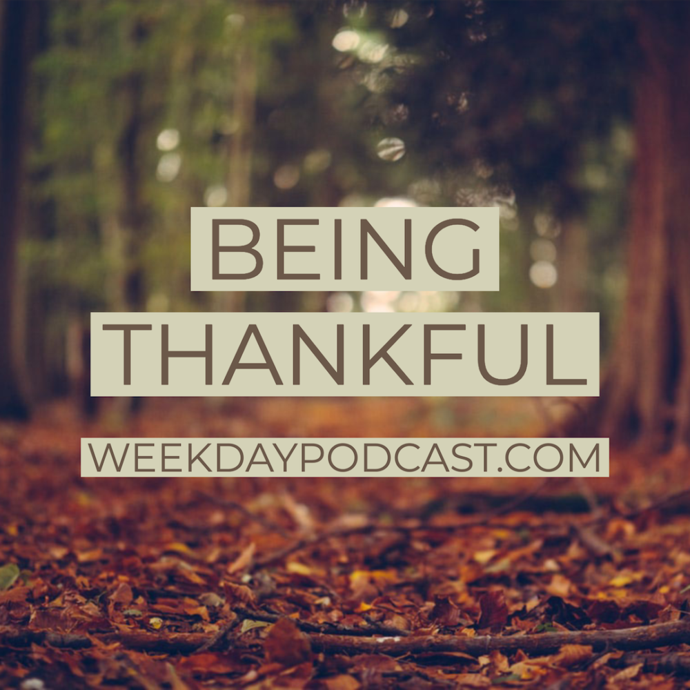 Being Thankful Image